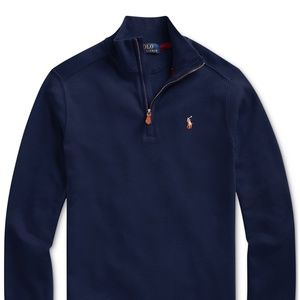 Polo Ralph Lauren Big Boys Half-Zip Pullover